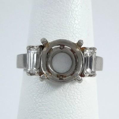 Platinum Ladies Fashion Ring R9978