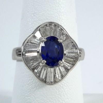 Platinum Ladies Fashion Ring R9979
