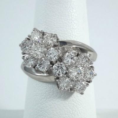 Platinum Ladies Fashion Ring R9981