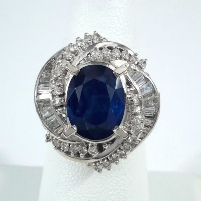 Platinum Ladies Fashion Ring R9992