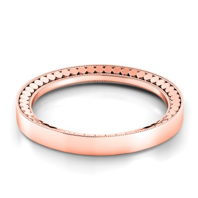 Rose Gold Wedding Ring for Women TB118-R