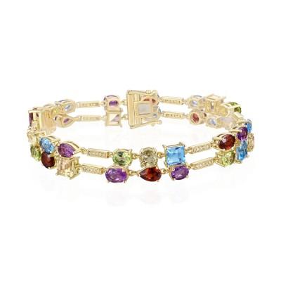 14k Yellow Gold Ladies Bracelet B01140