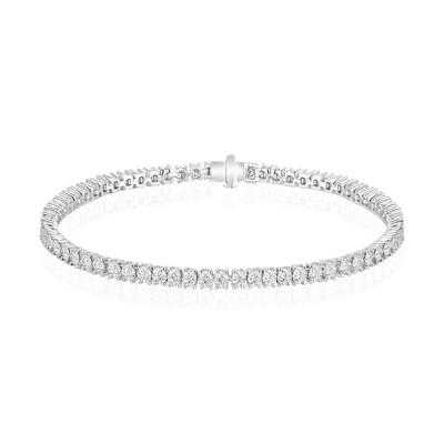 14k White Gold Ladies Bracelet B01326