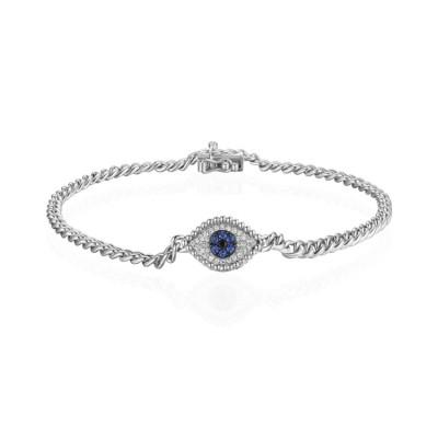14k White Gold Ladies Bracelet B01490