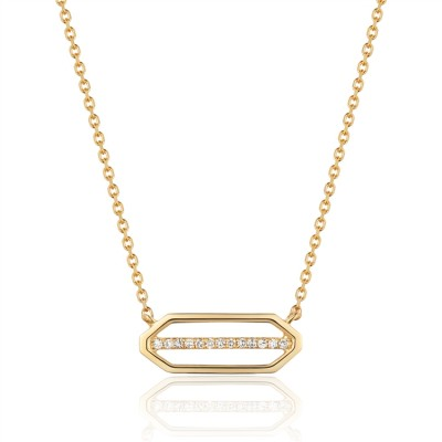 14K Yellow Gold Ladies Necklace N03231